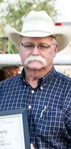 Last year Mark Kennerly was named the Pleasanton Young Farmers' Cowboy of the Year at their open rodeo and festival. Nominations are due by July 27 for this year's recipient. South Texas Cowboy Hall of Fame inductee nominations are also being accepted. PLEASANTON EXPRESS FILE PHOTO