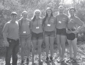Jourdanton FFA sent six chapter officers to the Area X Leadership Camp at Zephyr in Sandia on June 22-24 to learn how to become better leaders in their community. They will share their knowledge with other Jourdanton FFA members. CONTRIBUTED