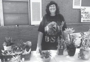 Barbara Schultz loves her succulents and can tell you how you can properly care for them yourself.