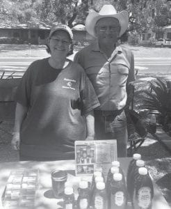 Naturally sweet and grown locally, the Rakowitzs have their honey at the market every week.