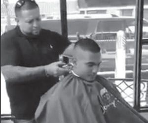 Join Pleasanton PD Officer Kai Viesca and the barbers at The Barbershop on Main St. for their 1st ever Back to School Bash for FREE haircuts on Saturday, August 25.