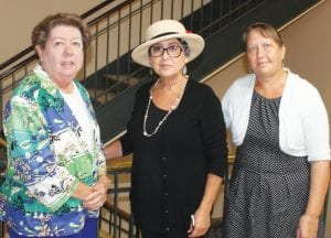 Caroline George, Marie Levy and Linda Carter - Members of the Stop Forced Annexation LEON ZABAVA | PLEASANTON EXPRESS