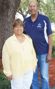 Irene Jones and husband Rev. Junior Jones LISA LUNA | PLEASANTON EXPRESS