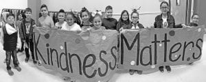 Poteet Elementary Student Council reminds everyone that kindness matters!