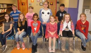 Jourdanton Elementary 3rd grade UIL students