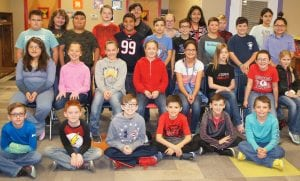 Jourdanton Elementary 5th grade UIL students