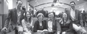 Pictured are Julie Novak's family left to right: Matt and Sarah Franklin, Julie and Charles Novak, Jeralyn and Ryan Novak. CONTRIBUTED