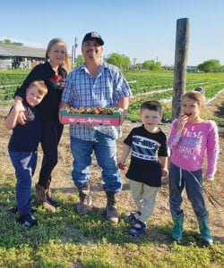 Emiliano, Heidi, EJ, Jimmy and Zayana Garcia, Garcia Farms, 210-243- 6371 CONTRIBUTED