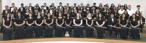 "The PHS Symphonic Band received 1st Division-""Superior"" ratings in Concert and Sight-Reading."
