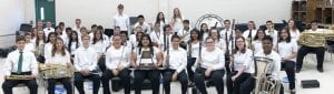 "The PJH Symphonic Band received 1st Division-""Superior"" ratings in Concert and Sight-Reading."