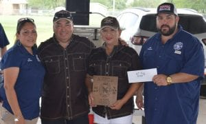 First Place Ribs, Cowboy Up Cooking Team- Ralph and Rosie Flores.