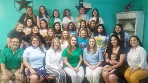 Student leaders from Pleasanton High School were honored with an end-of-year dinner at Cactus Garden. MADELEINE GUAJARDO | PLEASANTON EXPRESS