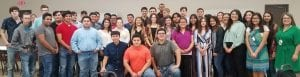 Students in the Pleasanton High School Career Prep course were honored with a luncheon at Church of Christ in Pleasanton where their employers were also appreciated. MADELEINE GUAJARDO | PLEASANTON EXPRESS