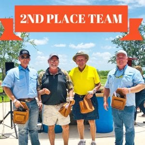 Second Place: Jones Land and Cattle- Larry Duke, James Schaelman, Larry Jones and Clyde Culver.