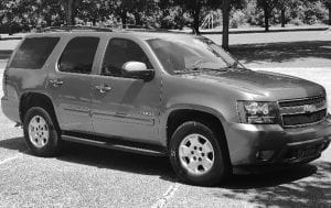 2012 Tahoe, 125,000 miles, one owner, excellent condition will be the grand prize of this year's raffle.