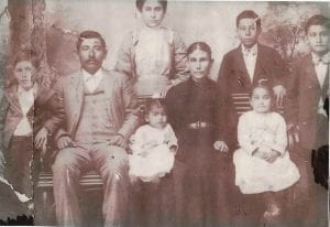 Pictured is Presciliano Zuniga when he was a boy. He is shown with his parents and siblings. He's the young boy on the left. COURTESY PHOTO