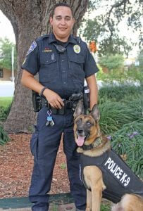 To see what Cpl. Sawicki and Kimbo is up to, please follow the Jourdanton Police Department Facebook page. REBECCA PESQUEDA | PLEASANTON EXPRESS