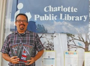 """You can purchase a copy of Jeff S. Bray's """"The Five Barred Gate"""" at the Charlotte Public Library as well as Barnes and Noble or on Amazon. Paperback copies are $15 and hardback are $30. REBECCA PESQUEDA 