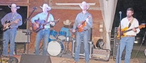 The Brian Anderson Band provided great dancing music for the night. LISA LUNA | PLEASANTON EXPRESS