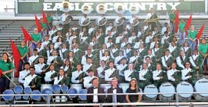 The Pleasanton Eagle Band received a Division I rating at the marching contest in Hondo. EMILY MANN   PLEASANTON EXPRESS