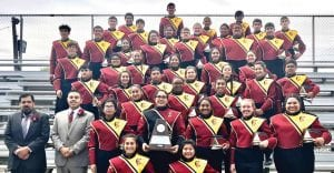 The Charlotte Trojan Band received a Division I rating this past Saturday in Hondo. CHARLOTTE ISD   COURTESY PHOTO