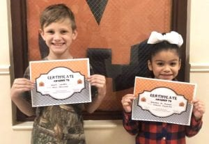 3rd grade winners- not all winners are pictured. POTEET ISD | COURTESY PHOTOS