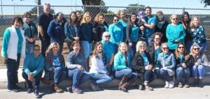 The staff at Atascosa-McMullen Co-op in Pleasanton joined together for their first ever Spina Bifida Day Walk-N-Roll. The event was held at the Sports Complex, part of a nationwide campaign to raise awareness about the birth defect spina bifida. It is the most common neural tube defect in the U.S. LISA LUNA | PLEASANTON EXPRESS