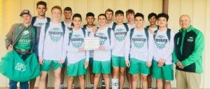 The Pleasanton Eagles pose with their gift certificate for $250 they won at the San Antonio Christian Adidas Tip-Off Classic over the weekend. CONTRIBUTED PHOTO