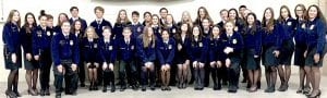 Tilden FFA at District LDE's COURTESY PHOTO