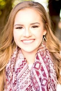 Brooke Vyvlecka, the daughter of Dennis and Amanda Vyvlecka, graduated from Jourdanton High School in 2018 and is pursuing a degree from Texas A&M University in Agricultural Communications and Journalism. COURTESY PHOTO