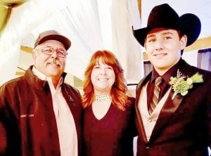 The Norment Family: Darold, Debbie and Hunter.