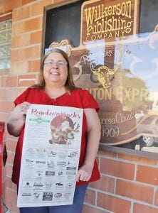 Pam Burkett is the lucky winner of the Pleasanton Express Reindeer Bucks $250 Gift Certificate! She registered at Granzin's Meat Market where she must spend at least half of her winnings. The other half may be spent at any of the other participating businesses below. REBECCA PESQUEDA | PLEASANTON EXPRESS