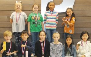 Pictured are second grade UIL winners and participants from Pleasanton Elementary School. LEON ZABAVA | PLEASANTON EXPRESS