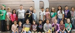 Shown are fourth grade UIL winners and participants from Pleasanton Elementary School. LEON ZABAVA | PLEASANTON EXPRESS PHOTOS