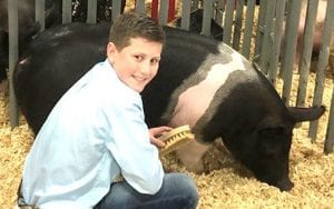 Kaydin Olle takes 3rd place in Class 5 Cross at the San Antonio Gilt Show. COURTESY PHOTO