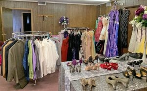 "The Beautiful You project is set up to feel like young ladies and men are walking through an actual boutique ""shopping"" for the perfect prom attire."