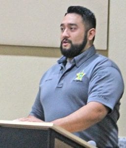 Atascosa County Fire Marshal Roger Garcia requested and received approval by Commissioners Court for a 30-day burn ban. LEON ZABAVA | PLEASANTON EXPRESS