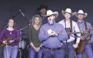Pastor Pete Pawelek, center in foreground, is shown with the Cowboy Fellowship Band. You can watch their live-stream of Easter services at 8:30 a.m. and 10:45 a.m. on Facebook or YouTube. COWBOY FELLOWSHIP   COURTESY PHOTO
