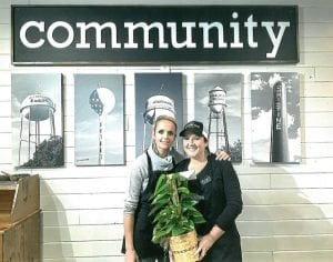 Located at 1752 E. Highway 97, the second business is Sunshine House Coffee. The two owners who are pictured are Keli Hindes and Audrey Mc- Cleary.