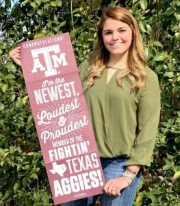 Hannah Watts, graduate of Poteet High School, was one of four recipients of a $500 scholarship through SCTICA . COURTESY PHOTO