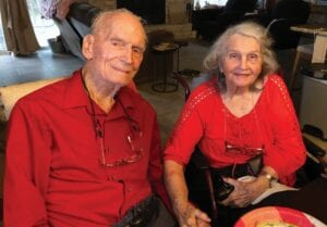 Charles Cale and Thelma Cardwell-Cale were married for 17 years. They first met after high school graduation, dated a while and then reunited over 50 years later.