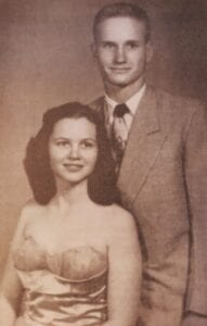 Thelma and her first husband, Dr. David Cardwell.