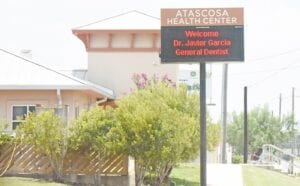 The Atascosa County Health Center, with offices in Pleasanton, Lytle and Tilden, is offering COVID-19 testing for those exhibiting symptoms. SAM FOWLER | PLEASANTON EXPRESS