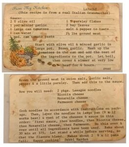 Sue Brown, of San Antonio, former Pleasanton Express Editor, loves to use this recipe when she is craving a good home cooked lasagna. She received this recipe from an old friend, Debbie Hayden from Pleasanton. COURTESY PHOTO
