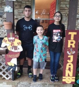 Craig, Miracle & Marcos Flores, Charlotte ISD