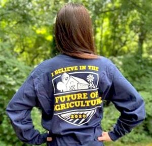 Limited edition T-shirt to help fund agricultural programs and activities for FFA youth.