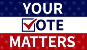 Early Voting began Oct. 13 and ends Oct. 30. Make your voice heard at the polls this year for the Nov. 3, 2020 Election by casting your vote today!