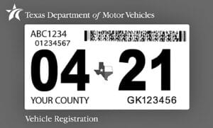 Gov. Abbott's temporary waiver on vehicle registrations ends at 11:59 p.m. on Wednesday, April 14. TEXAS DEPARTMENT OF MOTOR VEHICLES