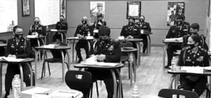 There are significant benefits when a school receives an Honor Unit with Distinction (HUD) status. One of the benefits is that students from a high school that has an HUD JROTC program can include it on their resume for employment.
