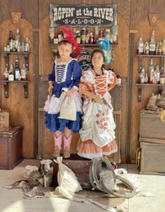 Old Time Photos with Miss Purdy was a crowd favorite and perfect way to get in the western spirit. EMILY MANN| PLEASANTON EXPRESS